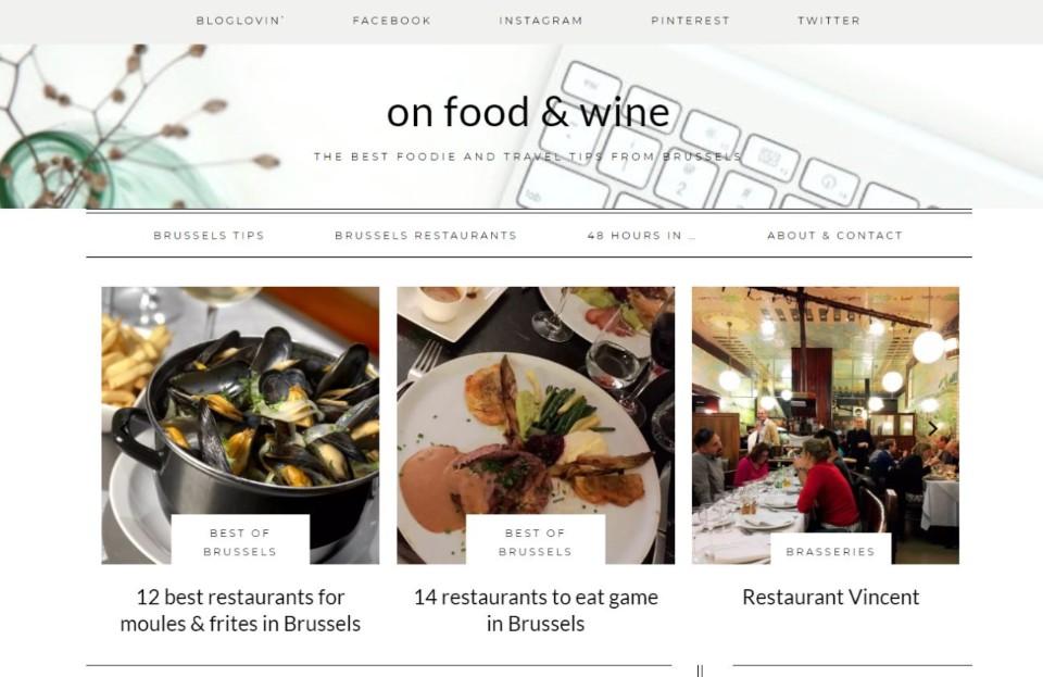 on-food-and-wine-blog