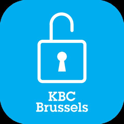 KBC Brussels Sign