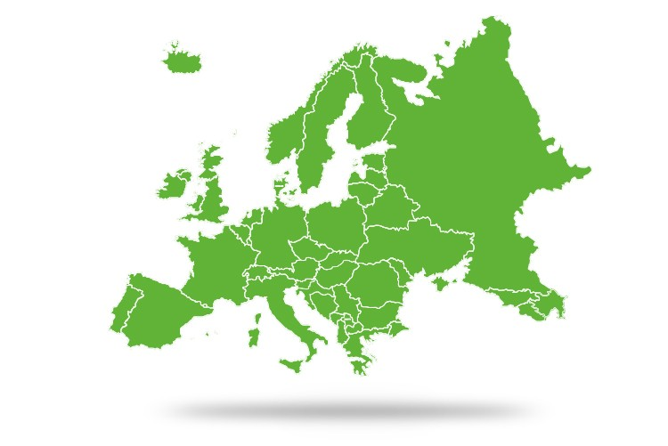 Pays où vous pouvez utiliser votre carte bancaire KBC Brussels normalement et sans limitation