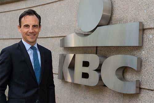 Daniel Falque, KBC Belgium CEO