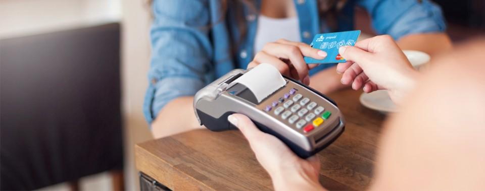 betalen met prepaid kaart