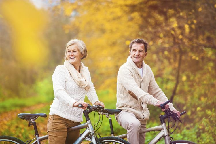 fietslening voor een mountainbike